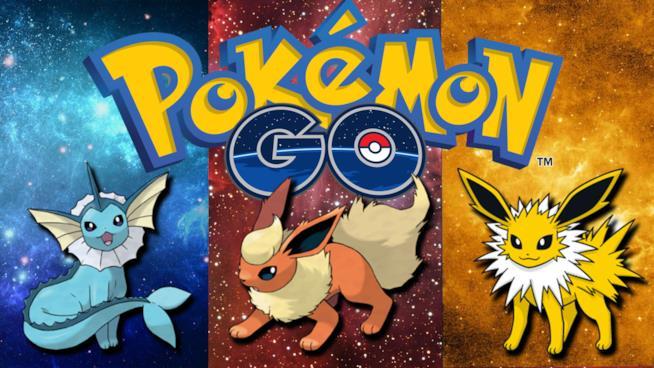 Le evoluzioni di Eevee in Pokémon GO