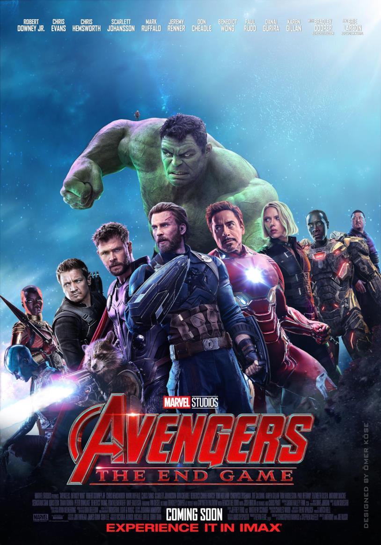 low cost 86da8 efb93 Avengers 4, un epico poster di un fan mostra tutti gli eroi ...