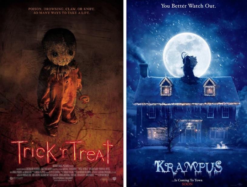 La Vendetta di Halloween e Krampus sono diretti da Michael Dougherty