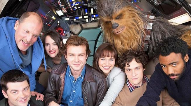 Il cast dello spin-off Han Solo al completo