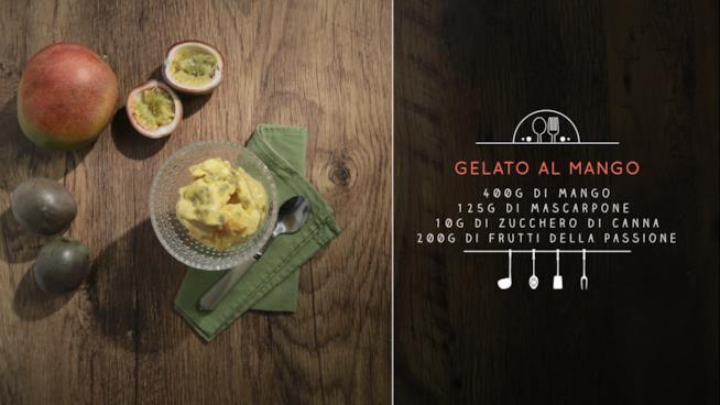 La ricetta del gelato al mango