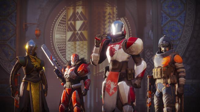 Una squadra di Guardiani pronti a combattere nel Crogiolo