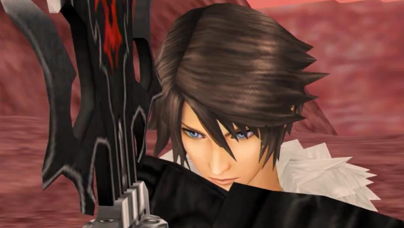 Una prima immagine di Final Fantasy VIII Remastered
