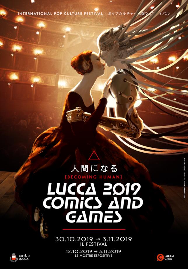 Locandina di Lucca Comics & Games 2019