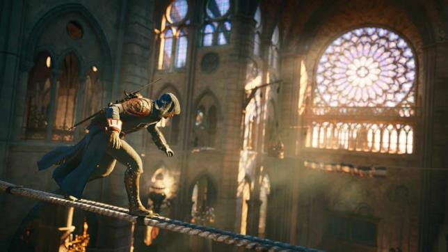 Una sequenza di Assassin's Creed Unity