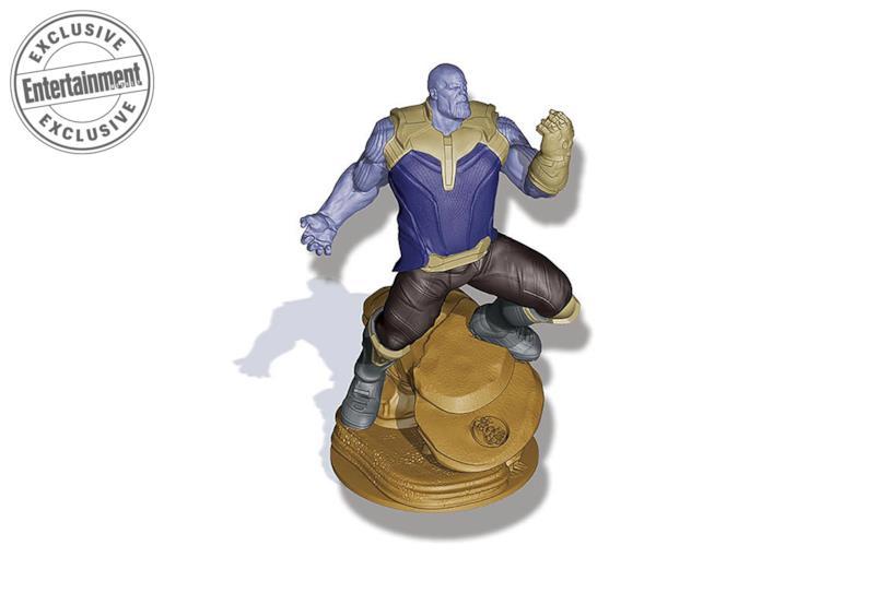 Ecco la miniatura di Thano nell'attesissimo board game