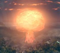 Fallout 76: l'esplosione di una bomba atomica