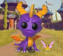Il Funko Pop di Spyro e Sparx