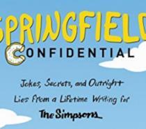 La copertina di Springfield Confidential