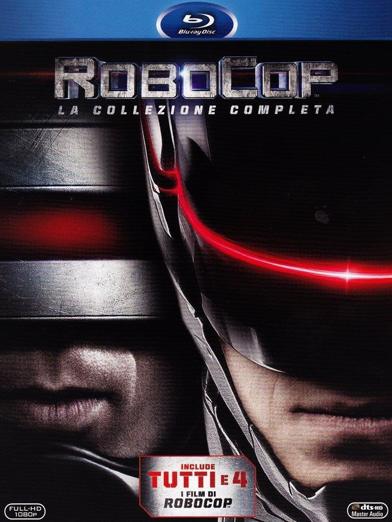 La copertina della collezione di RoboCop