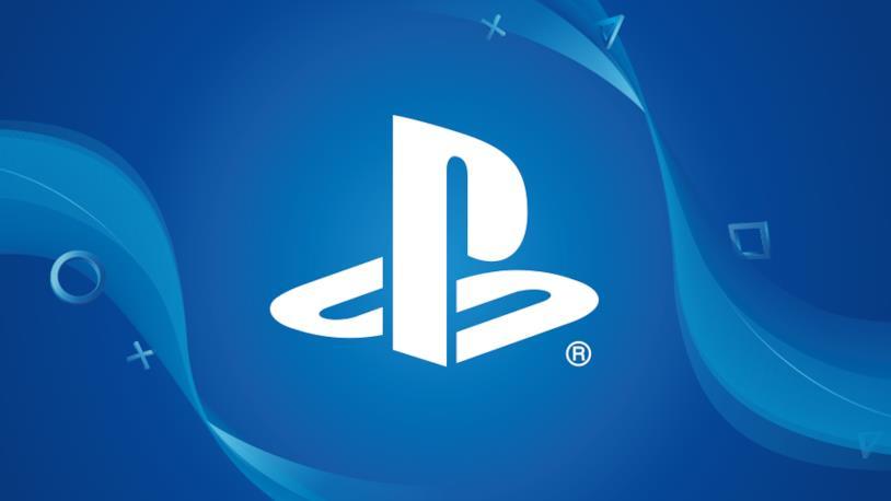 Il marchio PlayStation in primo piano