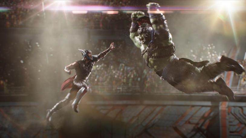 Thor: Ragnarok, una scena del film