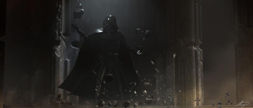 Darth Vader in un concept art di Vader Immortal: Episode II