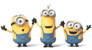 Tre Minions tra cui Bob