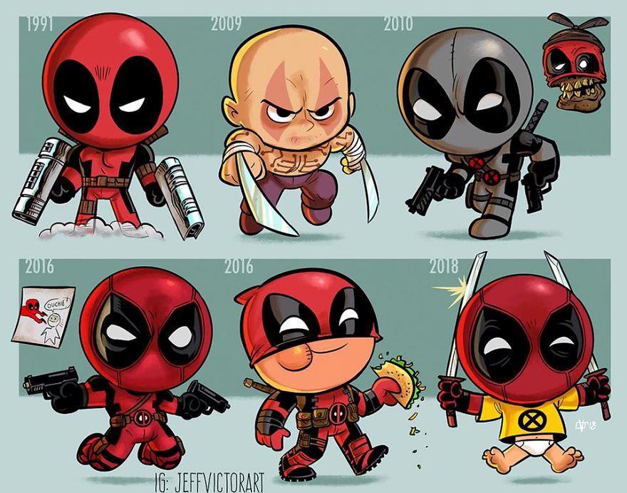 L'evoluzione delle icone della cultura pop: Deadpool