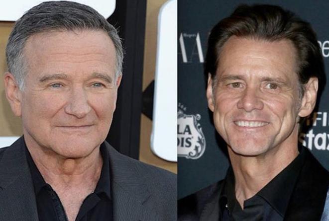 Robin Williams e Jim Carrey