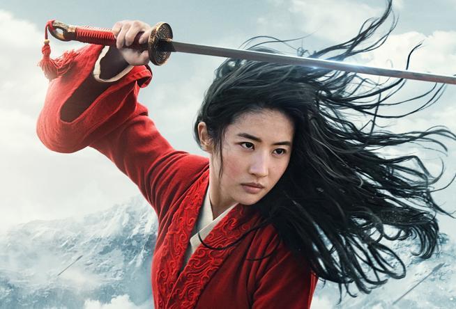 Una scena di Mulan 2020