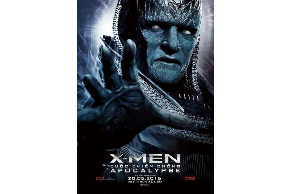 Lord Apocalisse nel character poster di X-Men: Apocalisse