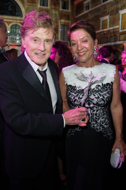 Robert Redford e Sibylle Szaggars ai Princess Grace Awards