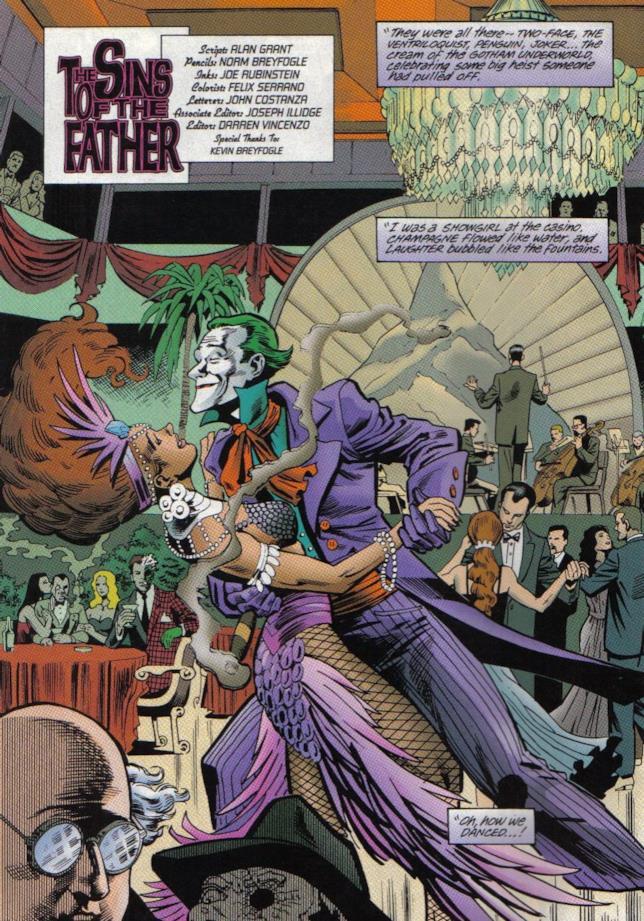 Il Joker danza con una ballerina in un locale notturno