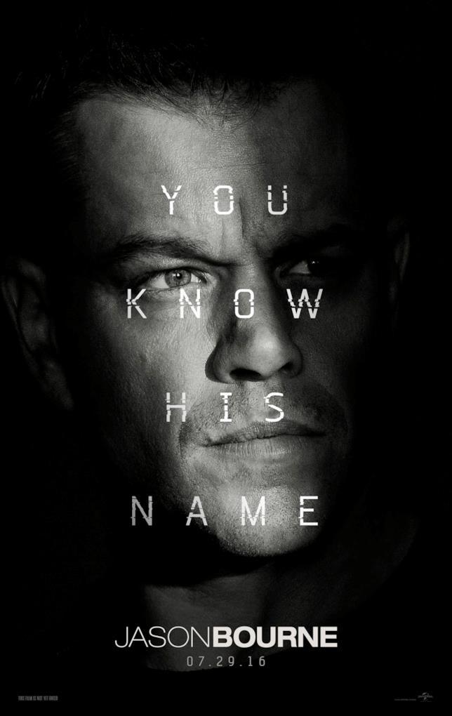 Jason Bourne - locandina