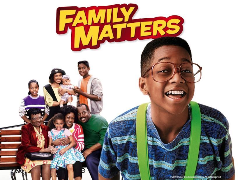 Family Matters, 8 sotto un tetto