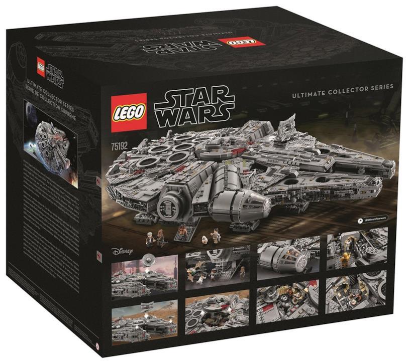 Set LEGO Millennium Falcon