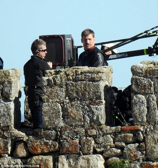 Game of Thrones: Nikolaj Coster-Waldau nei panni di Jaime Lannister sul set di Trujillo