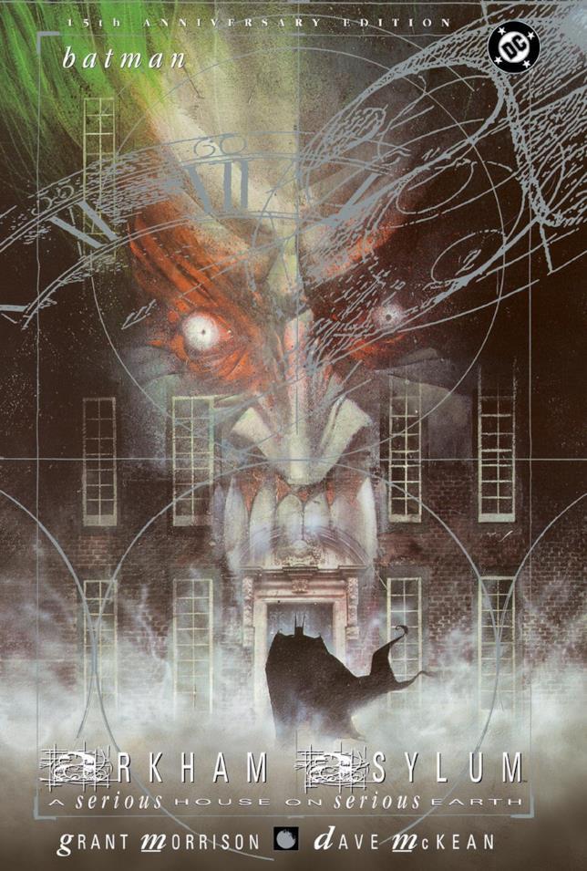 Copertina del graphic novel Arkham Asylum
