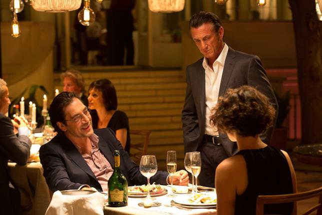 Sean Penn, Javier Bardem e Jasmine Trinca