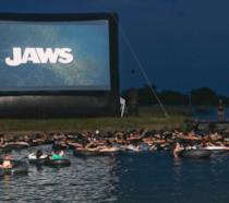 Il parco acquatico-cinema in Texas