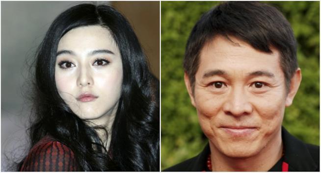 Collage tra Gong Li e Jet Li