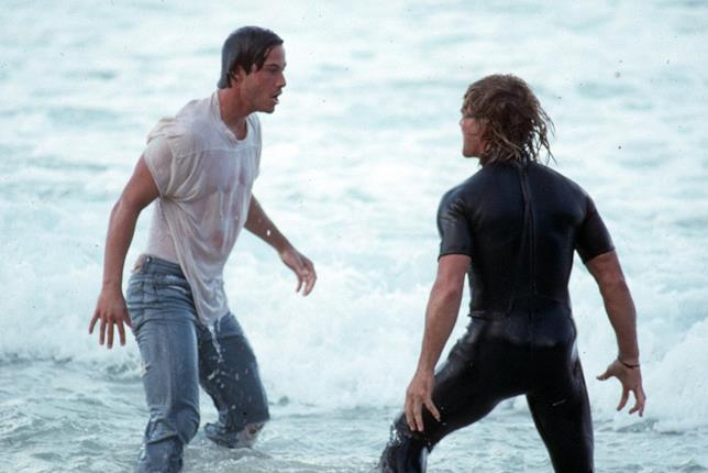 Keanu Reeves e Patrick Swayze