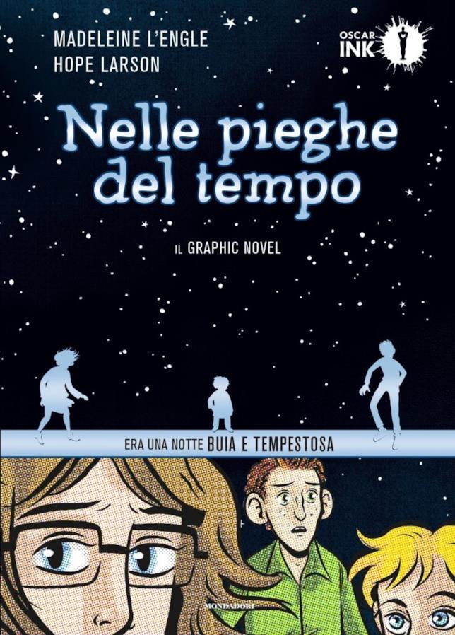 Nelle pieghe del tempo, la copertina della graphic novel