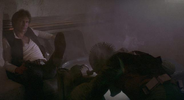 Han Solo e Greedo