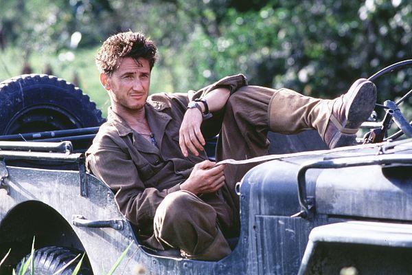 Sean Penn è il sergente Welsh in La sottile linea rossa