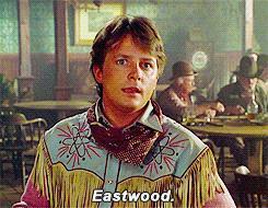 Ritorno al futuro 3  - Marty è Clint Eastwood