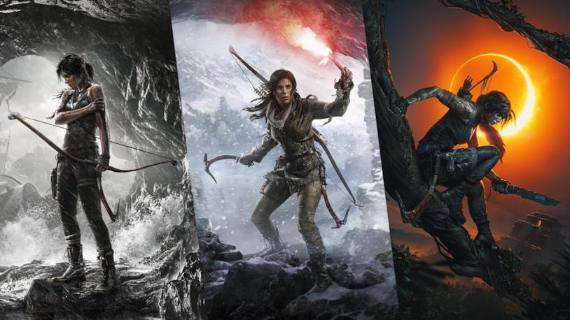 I concept art di Tomb Raider, Rise of the Tomb Raider e Shadow of the Tomb Raider