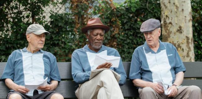 Morgan Freeman in Insospettabili sospetti