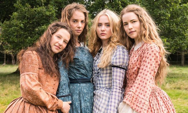 Le sorelle March nell'adattamento BBC Little Women