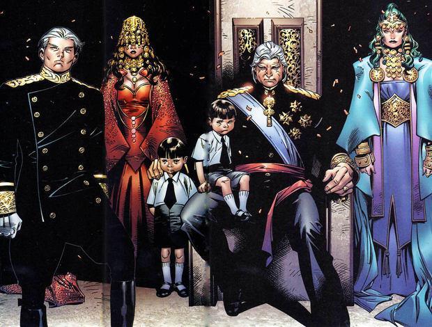 I giovani Wiccan e Speed vicini a nonno Magneto