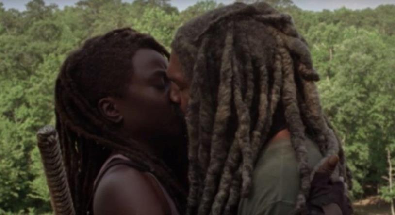 The Walking Dead 10: il bacio fra Michonne ed Ezekiel nel trailer