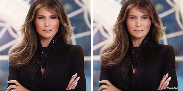 """La First Lady """"vittima"""" di MakeApp."""