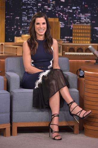 Sandra Bullock al The Tonight Show