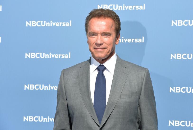 Mezzobusto di Arnold Schwarzenegger