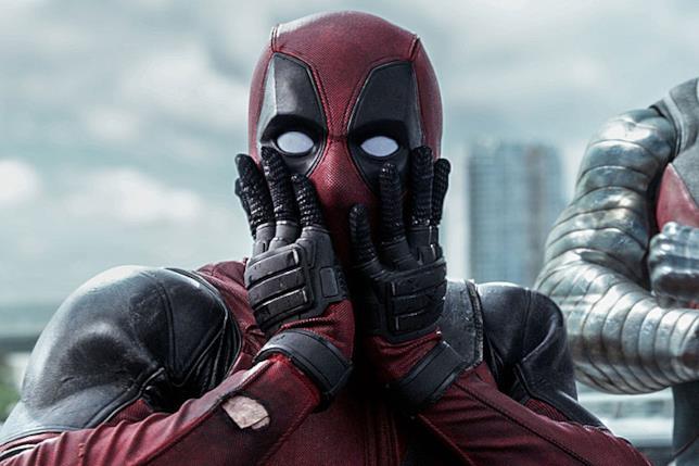 Ryan Reynolds nel film Deadpool