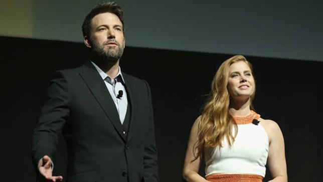 Ben Affleck e Amy Adams al CinemaCon