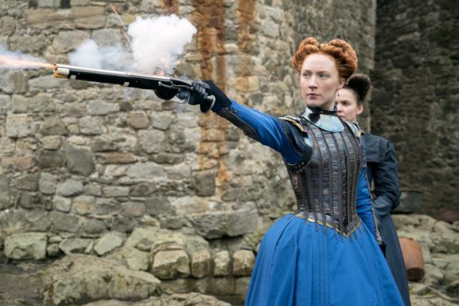 Saoirse Ronan spara