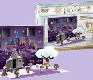 Il caleendario dell'avvento di Harry Potter e Funko