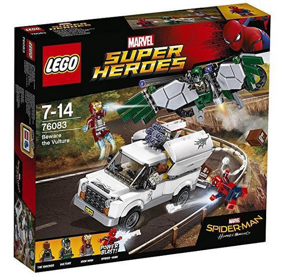 Dettagli del box del set Attenzione alla VULTURE di LEGO